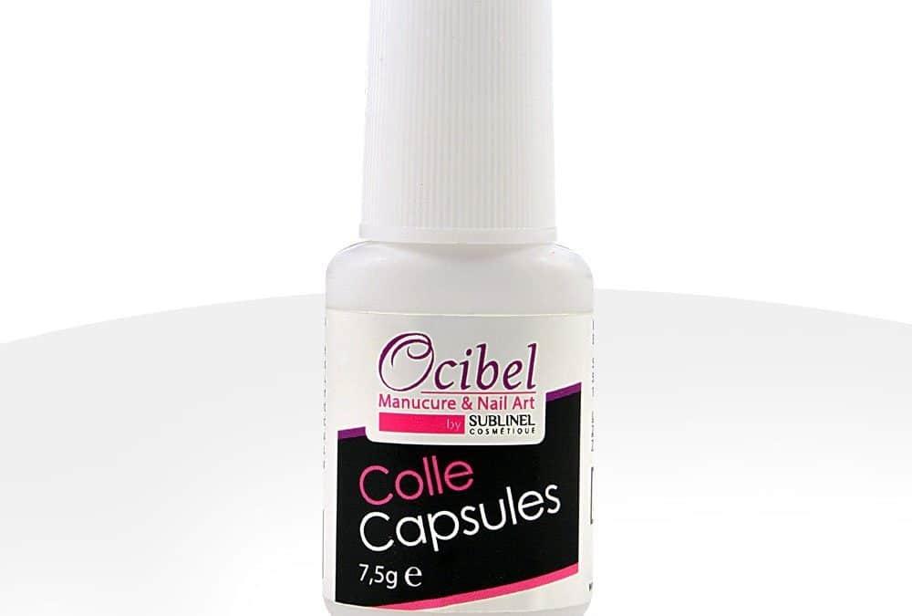 Colle Capsule Ocibel avec Pinceau 7,5 ml