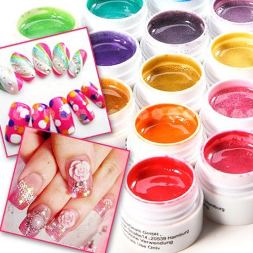 nail art gel nded