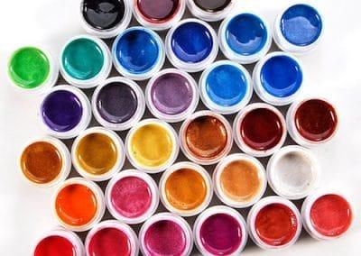 Coffret SODIAL 31 couleurs de gels uv