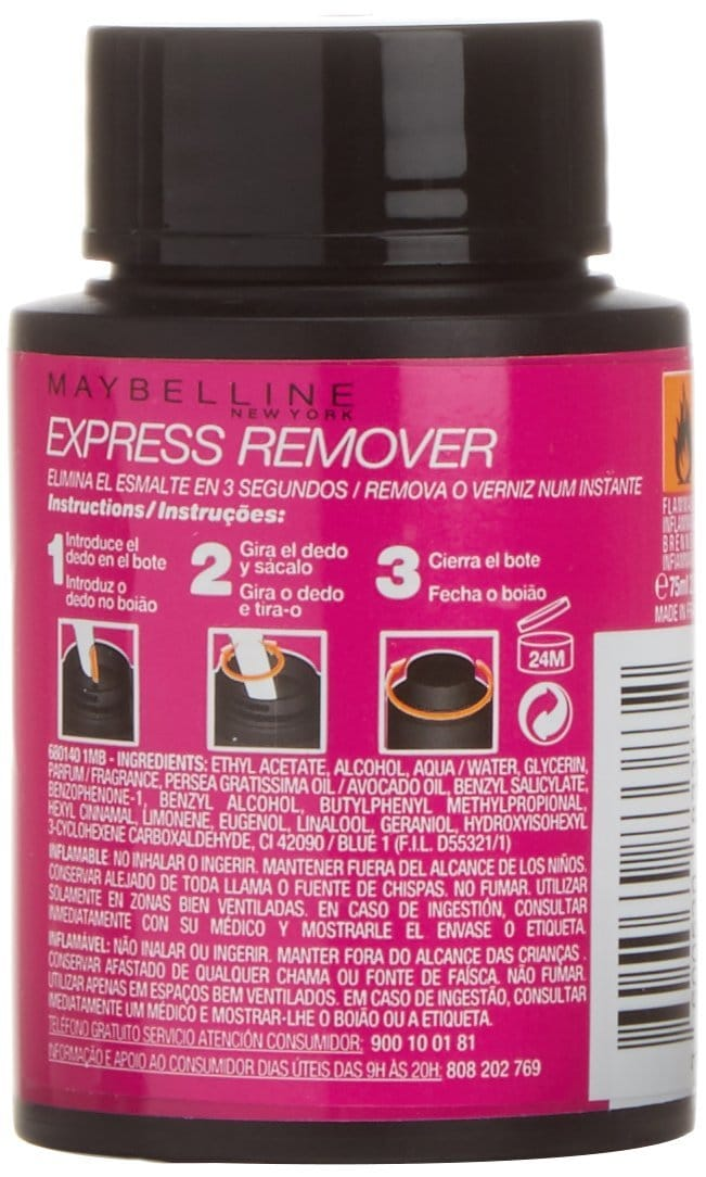 express remover maybelline