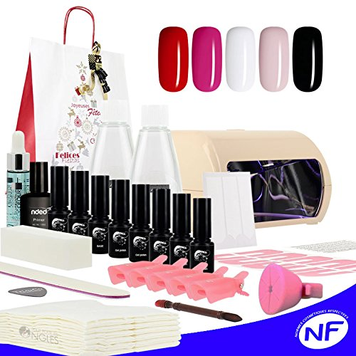 kit manucure semi permanent nded mes petits ongles. Black Bedroom Furniture Sets. Home Design Ideas