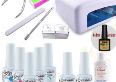 Kit manucure semi-permanent complet VISHINE