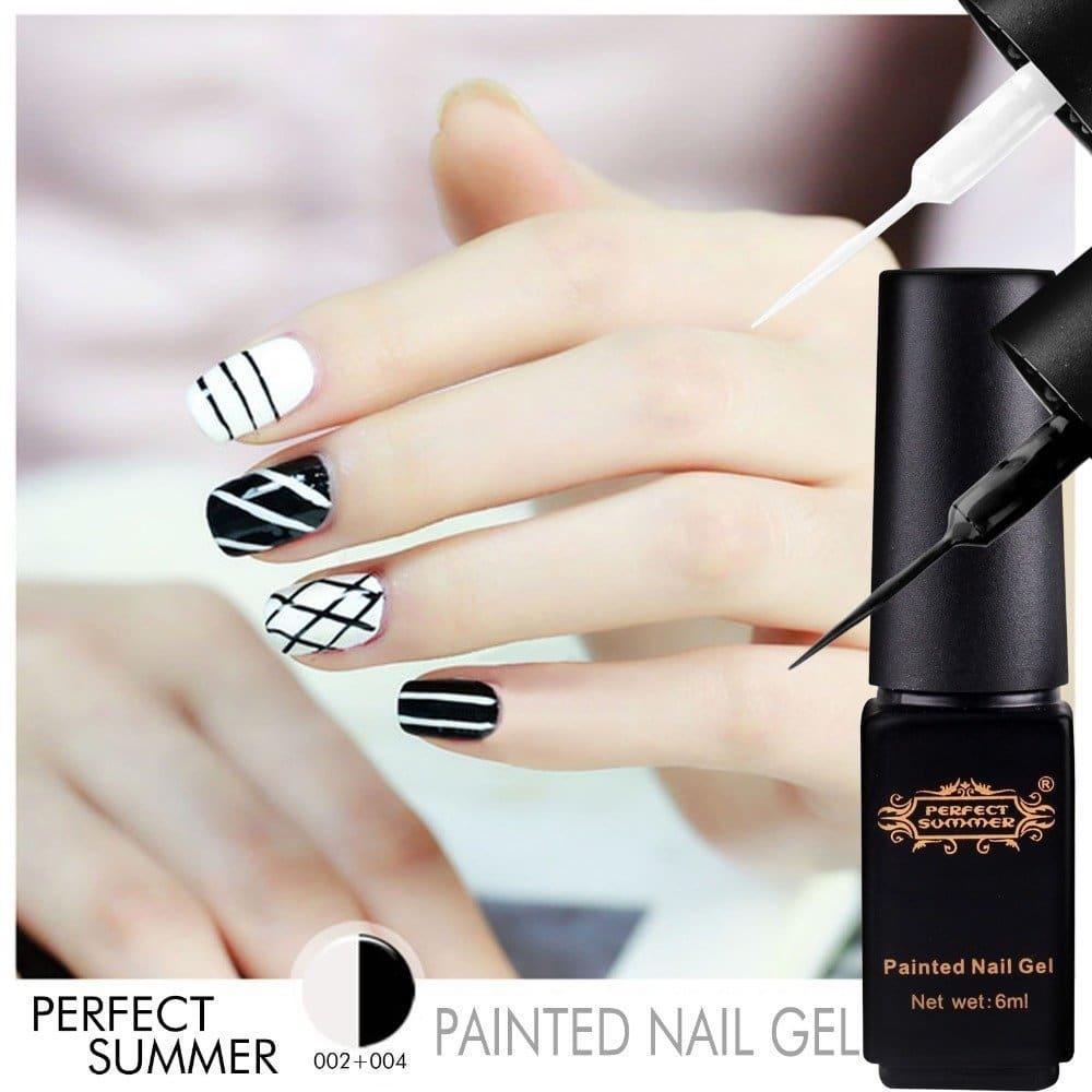nail art perfect summer